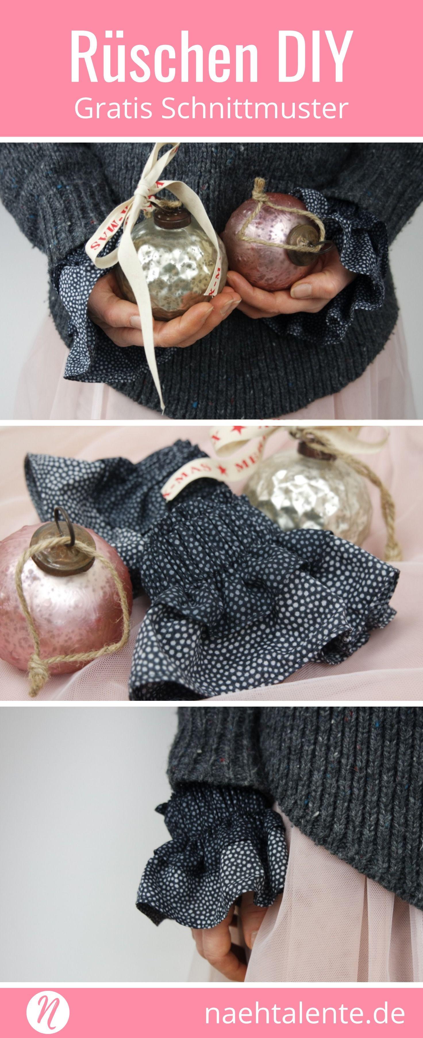 Rüschen-Manschette DIY   Geschenke für die besten Freunde, Gratis ...