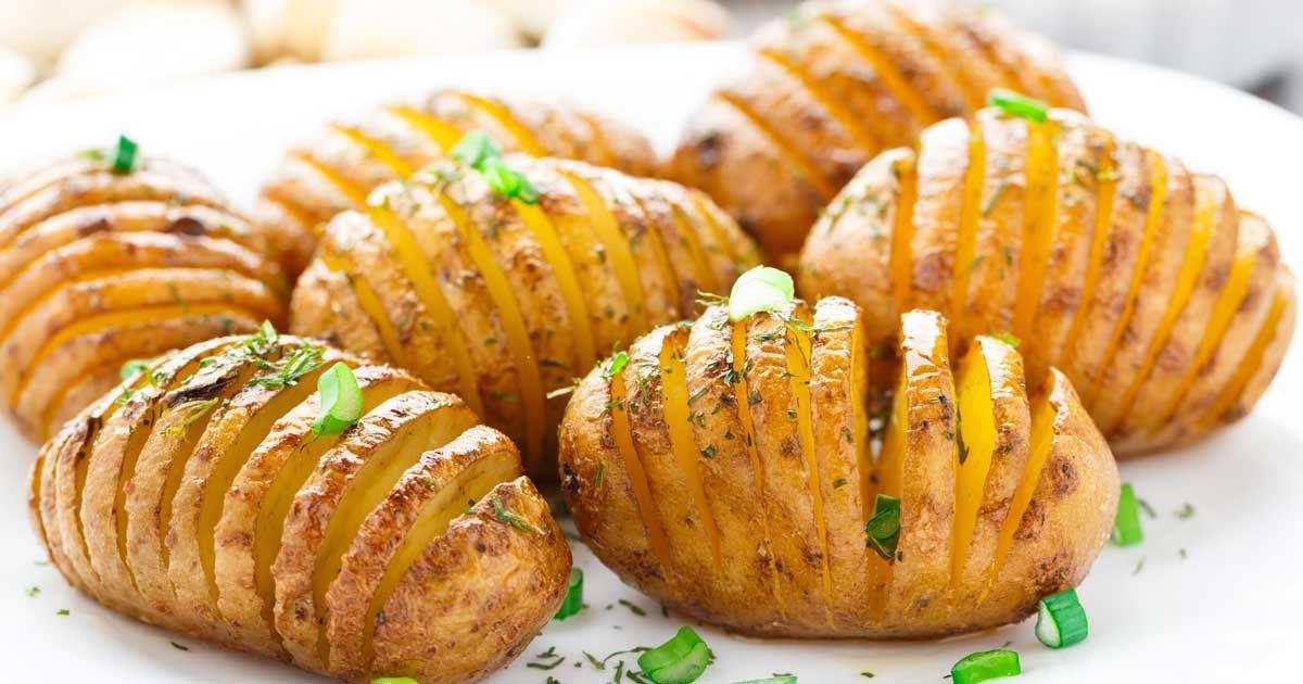 عمل بطاطس بالفرن Cooking Recipes How To Cook Potatoes Food