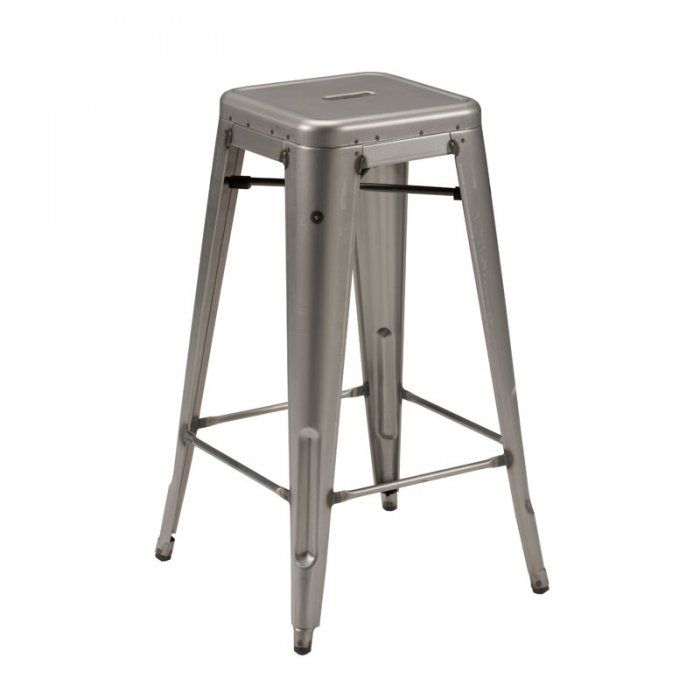 Lovely Industrial Style Counter Stool