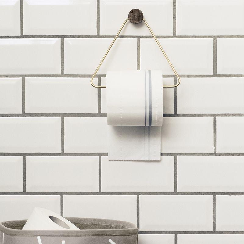 ferm LIVING webshop - Brass Toilet Paper Holder | Bad / bathroom ...