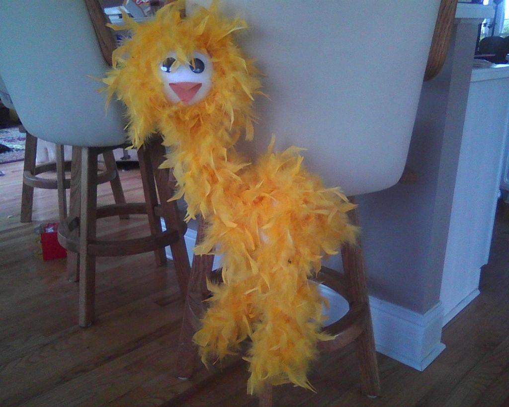 make a bird marionette bird puppet and miniatures. Black Bedroom Furniture Sets. Home Design Ideas