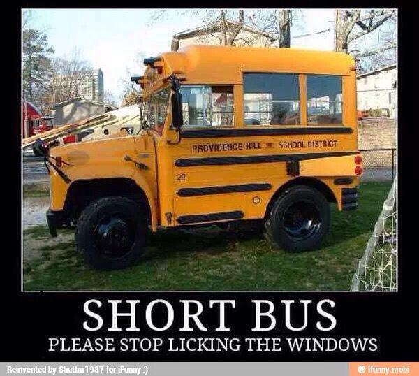 The Short Bus Bus Humor