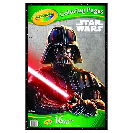 crayola giant coloring pages star wars