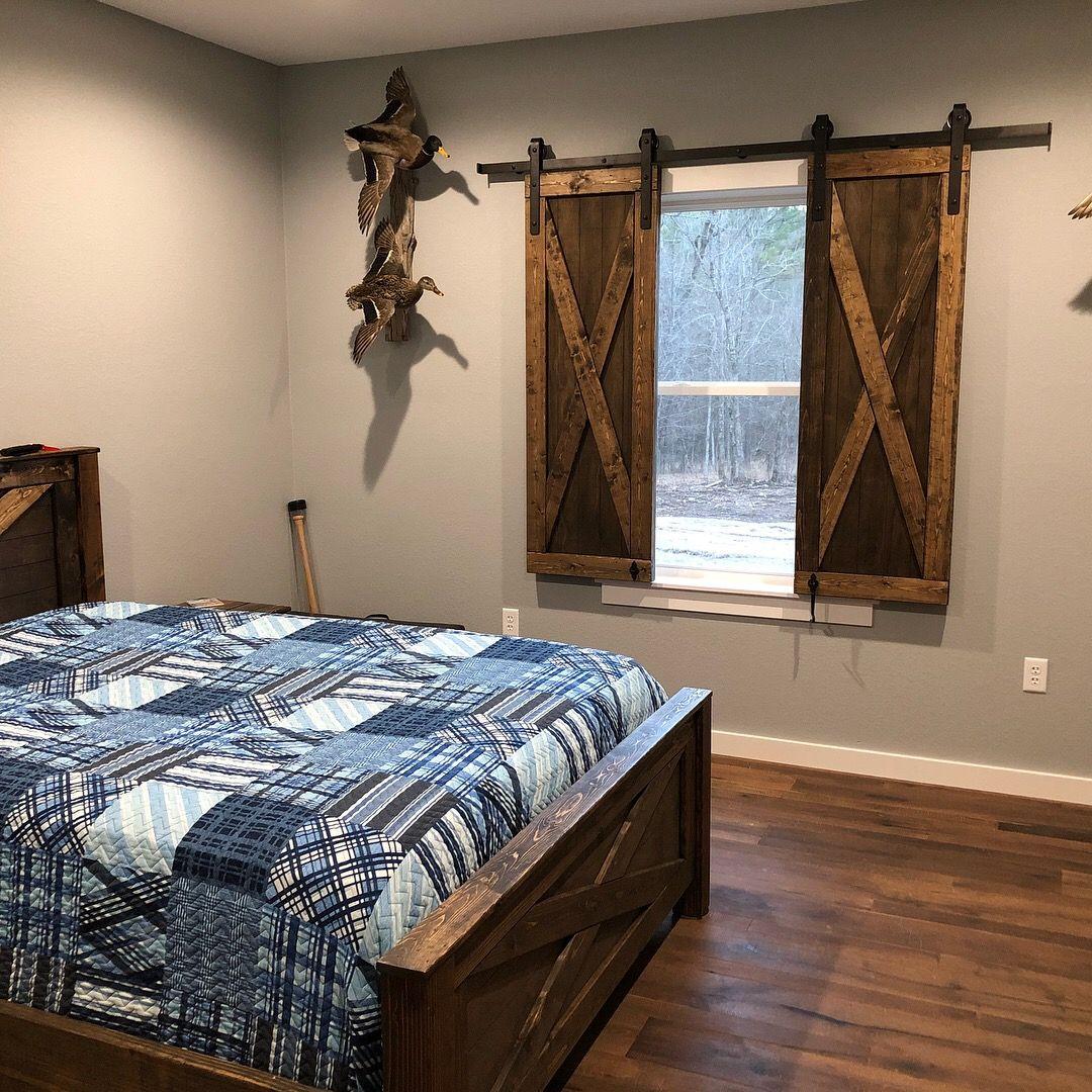 Rustic Barn Door Bedroom Set By My Eclectic House. Www