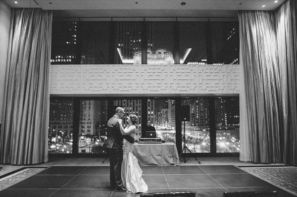 Classic ballroom wedding at The Langham, Chicago.