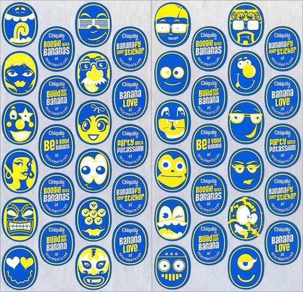Chiquita Banana Stickers 2010 | I Love Chiquita! | Funny ... | 600 x 578 jpeg 133kB