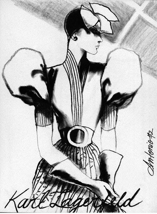 Antonio Lopez Ilustracion De Moda Ilustraciones De Diseno De