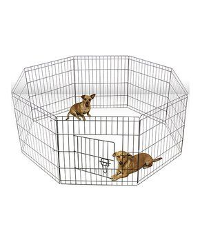 Portable Metal Wire Pet Playpen Wire Dog Crates Dog Playpen