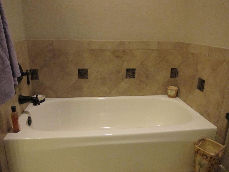 bathroom tile around bathtub & floor - Google Search   New Home ...