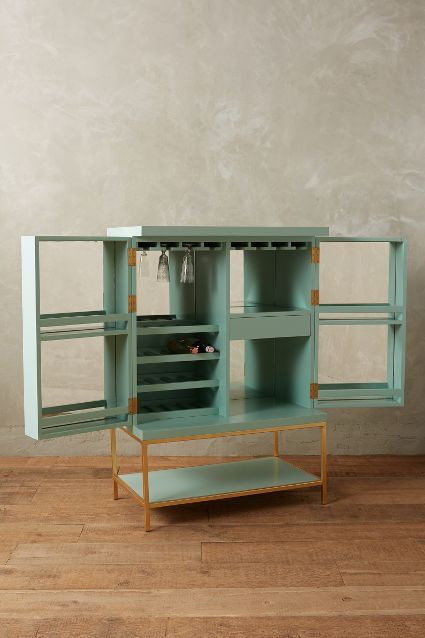 i will figure out how to build this lacquered bar cabinet