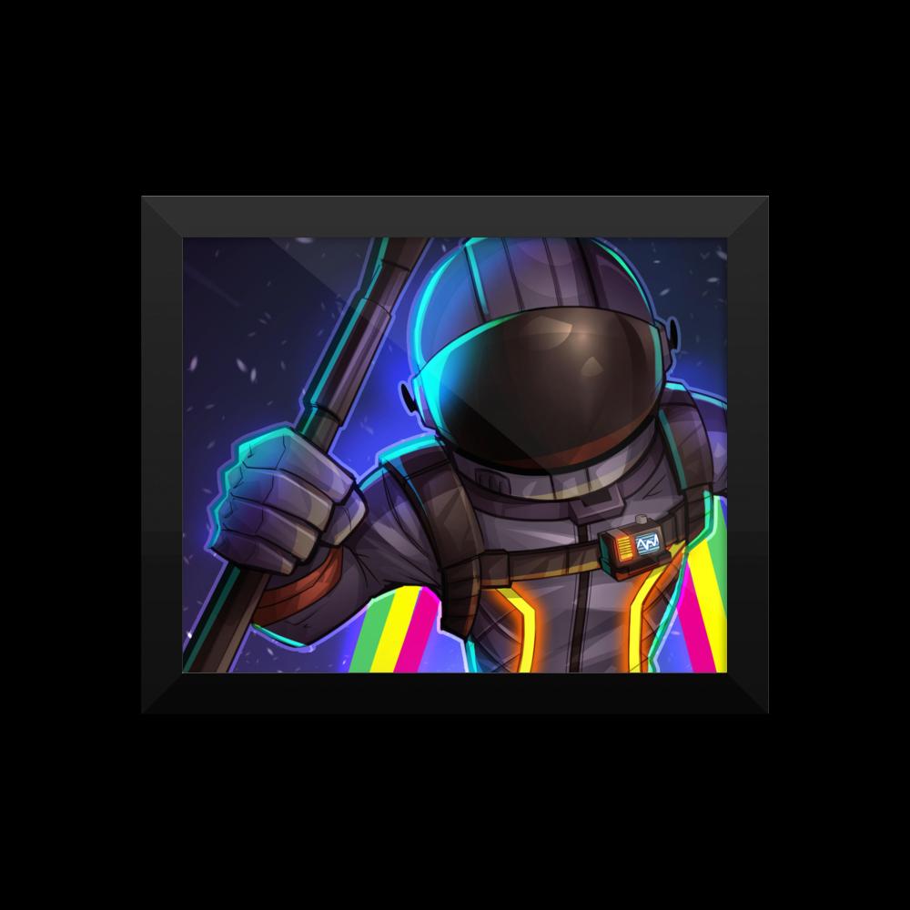 Fortnite Dark Voyager Poster Fortniteretail