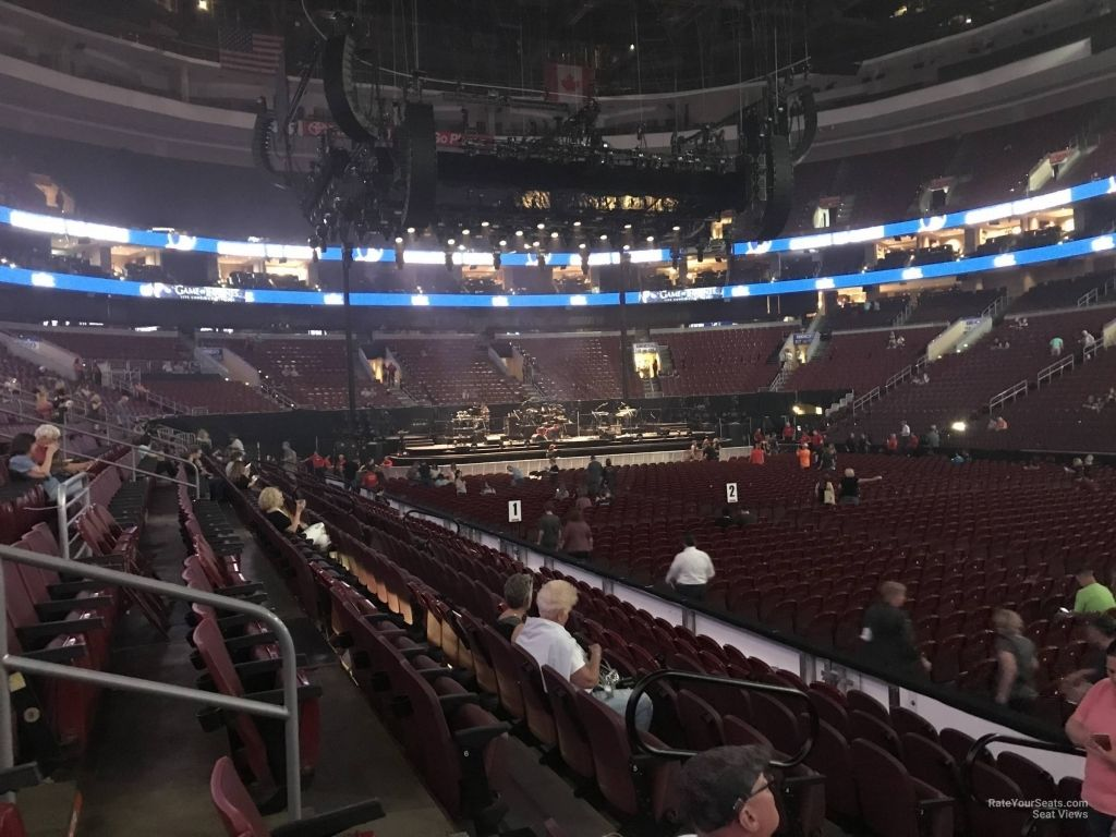 Wells Fargo Center Virtual Seating Chart