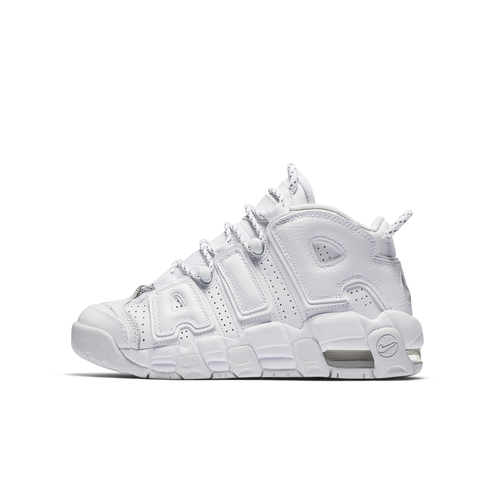 free shipping a6873 8147a Nike Air More Uptempo Little Big Kids  Shoe Size 6.5Y (White)