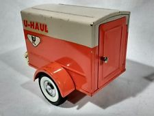 Vintage 1960 S Nylint U Haul Toy Enclosed Moving Trailer For Pick