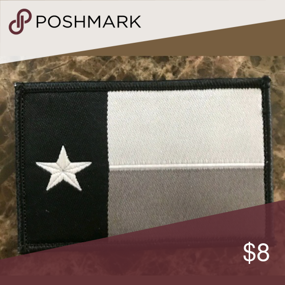 Texas Flag Velcro Morale Patch Tactical Velcro Patch Texas State Patch 2 X3 Embroidered With Velcro Backing Police Bik Morale Patch Velcro Velcro Patches