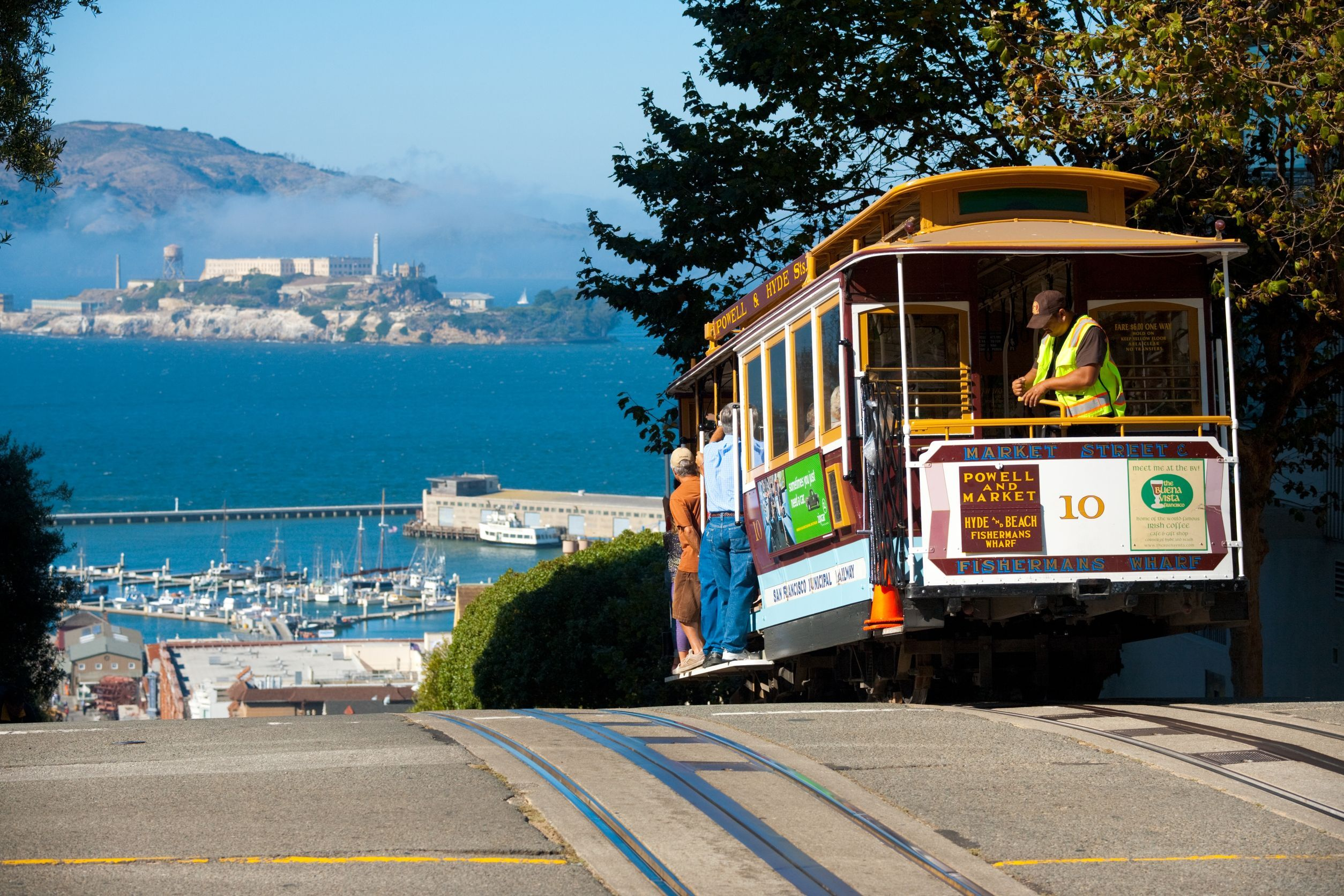 San Francisco Cable Car Trams Ride A Cable Car This Was So