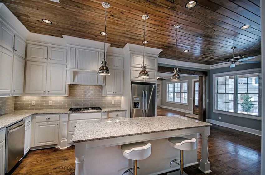 35 Beautiful Rustic Kitchens Design Ideas White Kitchen Rustic Kitchen Design Granite Countertops Replacing Kitchen Countertops