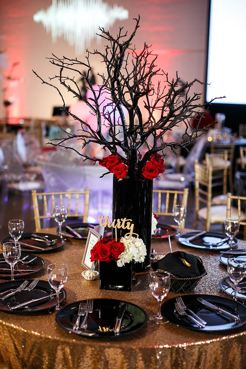 Rock and Roll Centerpiece Ideas photos by Steven Torres