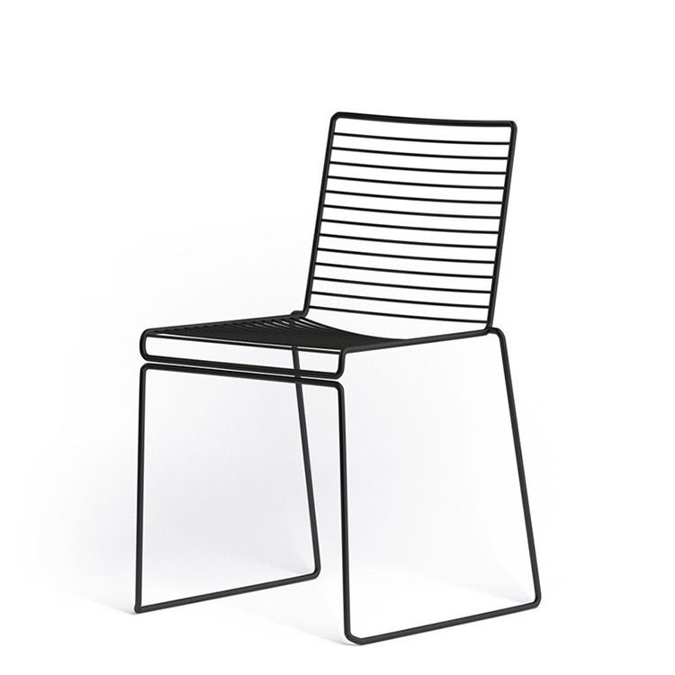 Studio Wire Hee Chair Minimalist Modern Classic Metal Outdoor