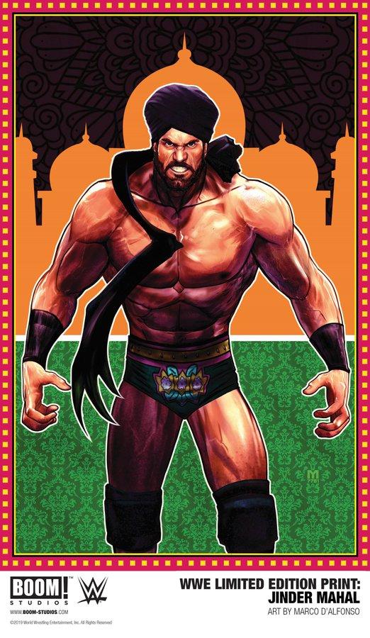 The Maharaja Jindermahal Twitter Professional Wrestler Wwe News Jinder Mahal
