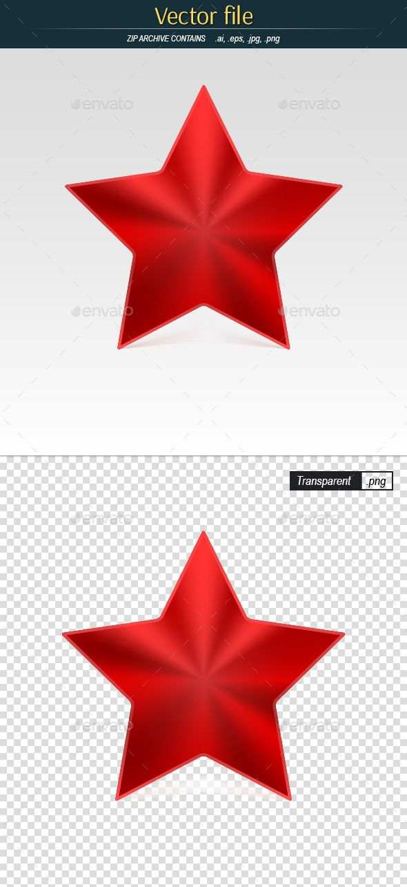 Red Star Icon Red Star Red Icon