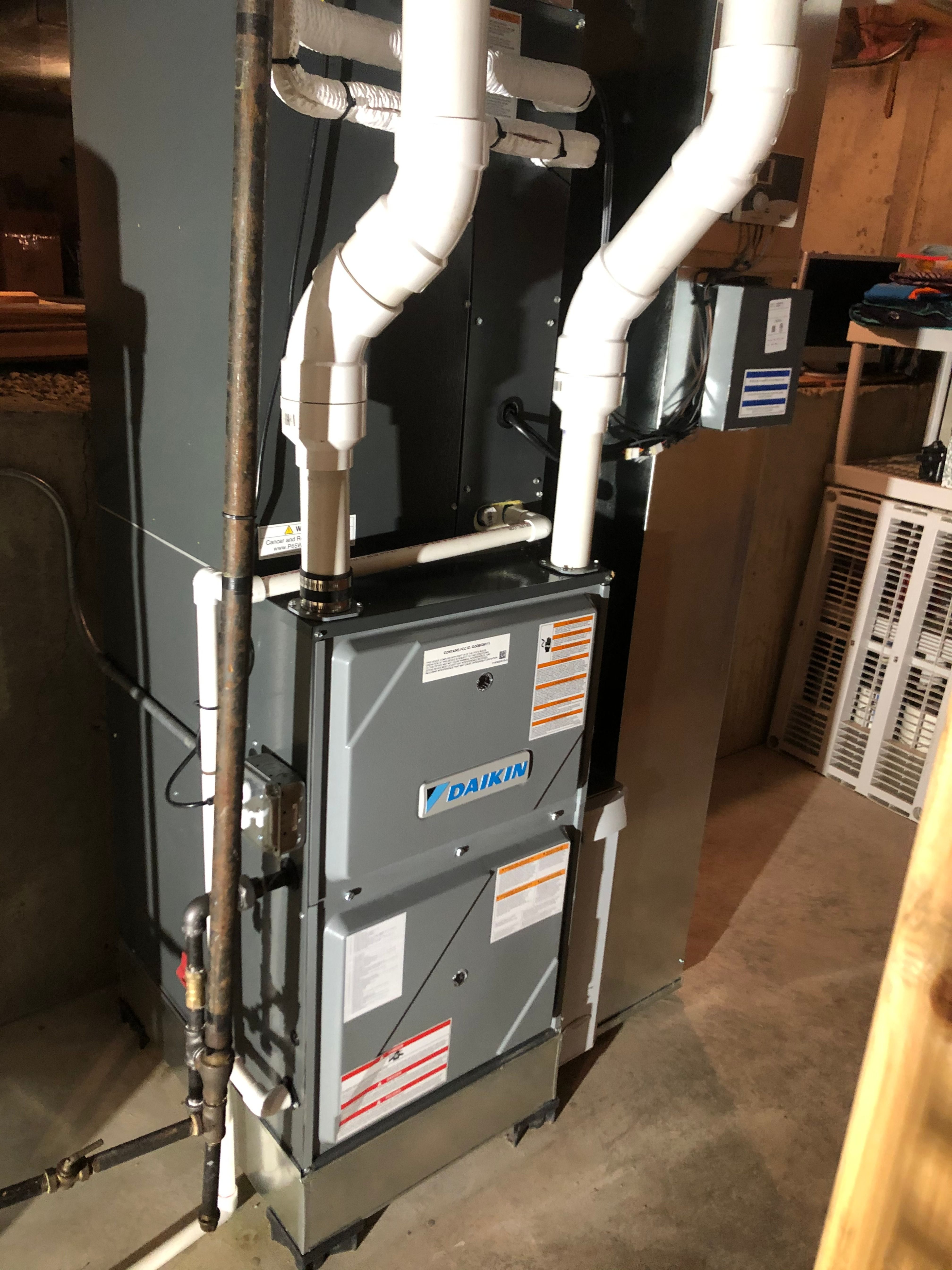 Attic Mounted Air Conditioning System