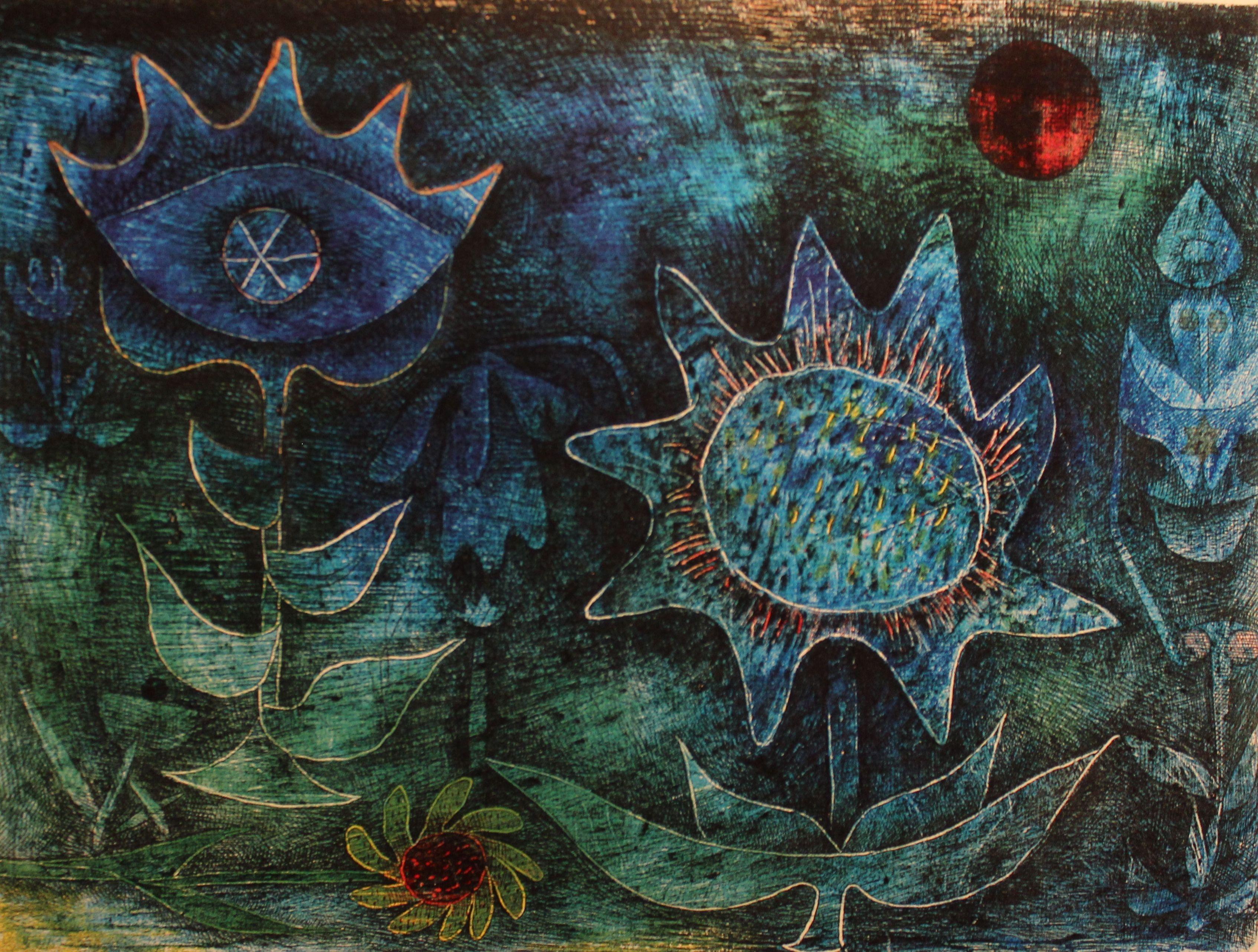 Paul Klee Paul Klee Flowers In The Night 1930 Paul