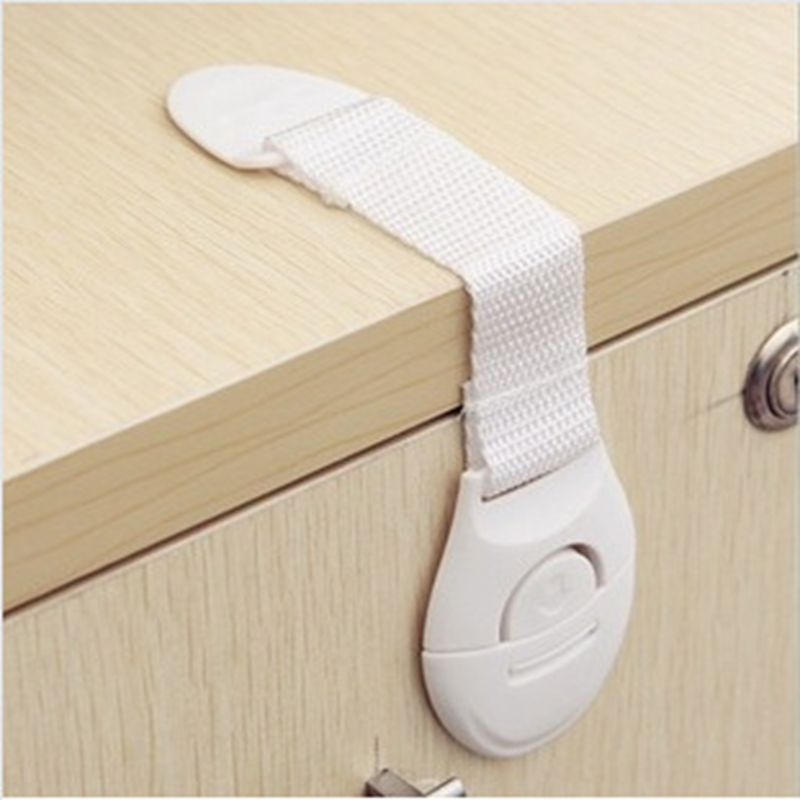 5pcs//lot Cabinet Door Drawers Refrigerator Toilet Safety Locks for Kids Baby New