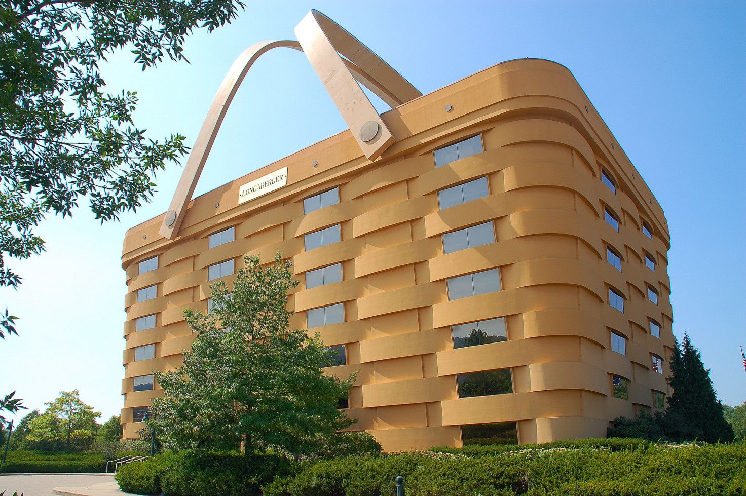 The 30 weirdest roadside attractions in America: Longaberger Basket Building