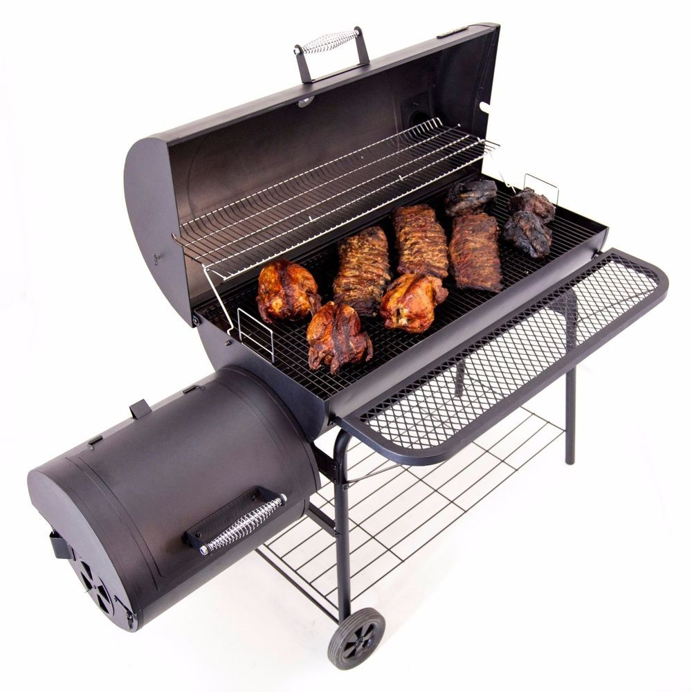 bbq pit charcoal smoker grill char-broil portable outdoor fire