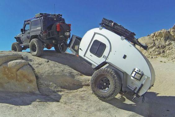 Remorque Caravane Sur Les Routes De Montagne Astuces