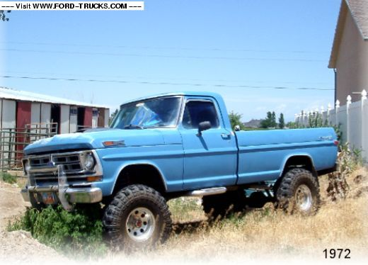 1972 Ford F100 4x4-1972 FORD: