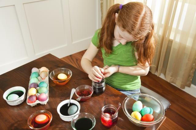 How to Remove Easter Egg Dye Stains