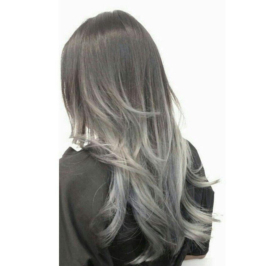 grey ombre hair instagram dearmiju hair pinterest