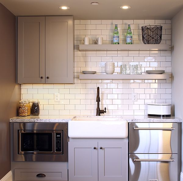 Kitchenettes Are Idea Of In Laws Suites This One From The Builder
