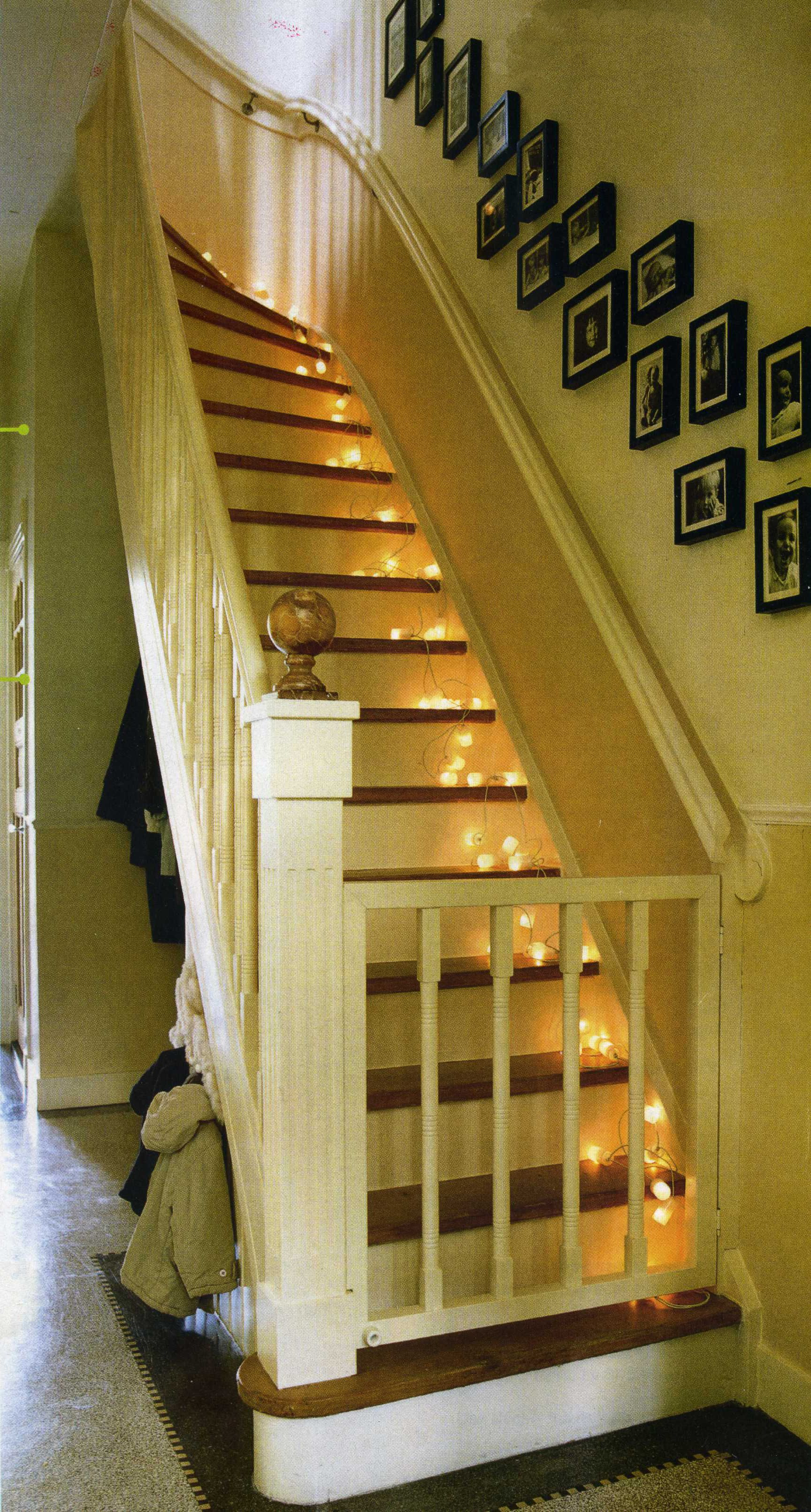 Stair Gate Between Kitchen And Utility. We Coud Make This Using Some Stair  Spindals And Wood