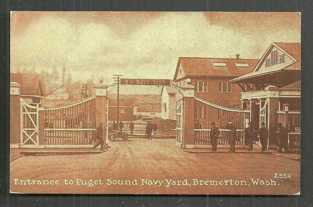 Details about bremerton puget sound navy yard wa