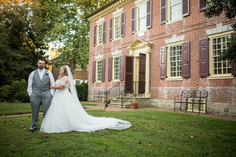 Historic Odessa Wedding In Front Of The Wilson Warner House C 1769