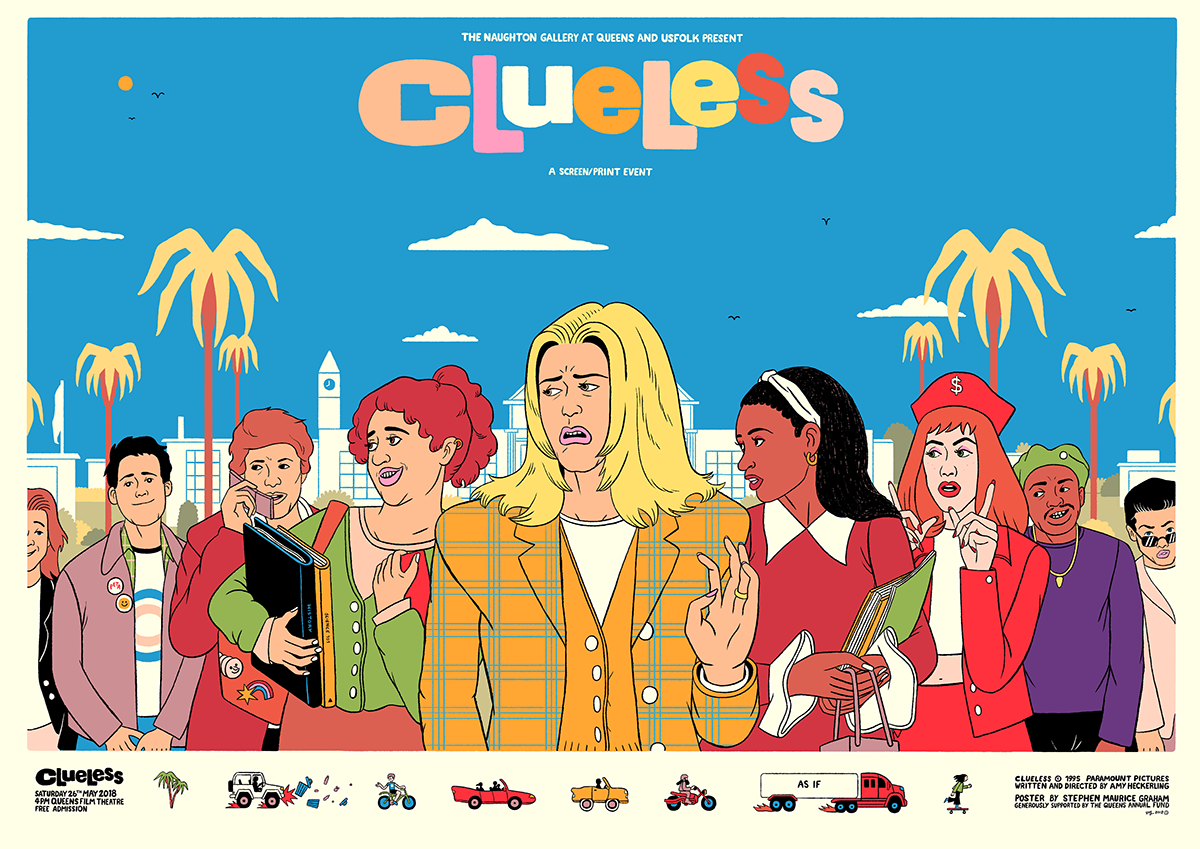 Clueless Movie Poster Google Search