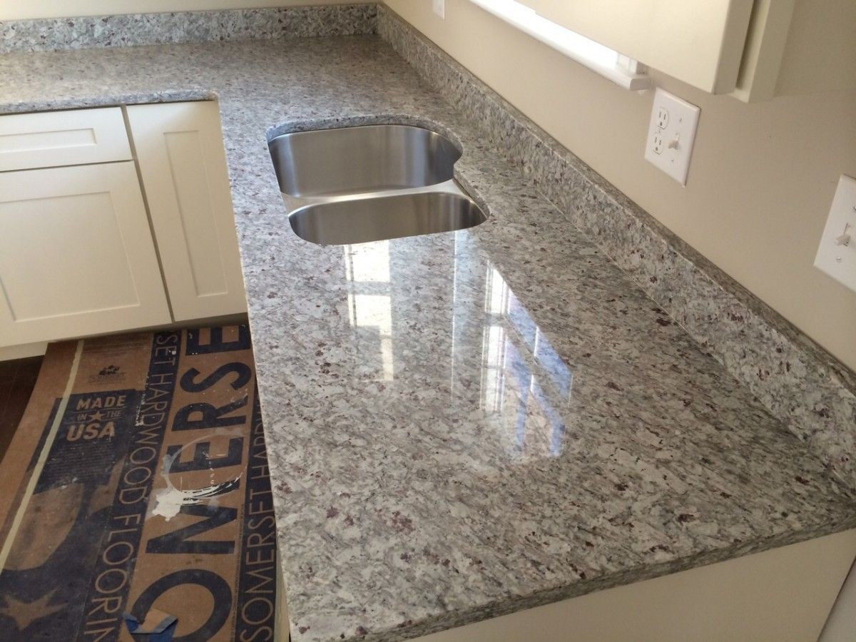 White Cabinets And Moon White Granite Google Search