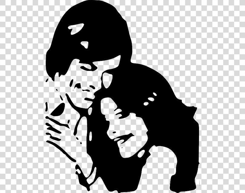 Love Black And White Heart Clip Art Love Couple Png Love Art Black Black And White Couple Heart Clip Art Black And White Heart Clip Art