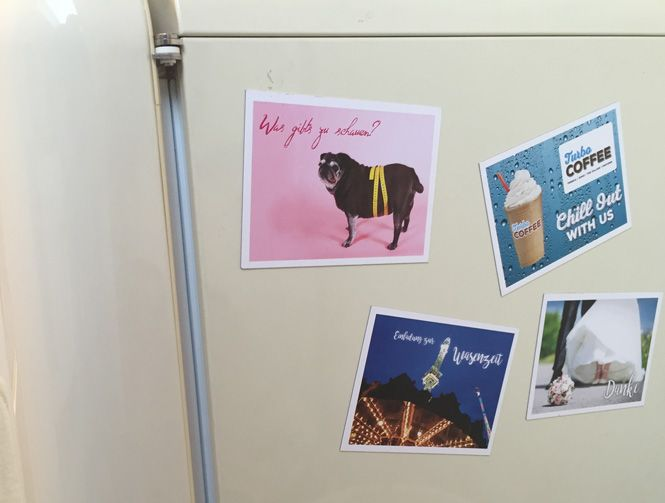 Kühlschrank Magnete : Kühlschrank magnete #magnet #magentpostkarte #dankeskarte