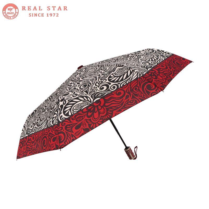 Custom The virgin Mary Compact Travel Windproof Rainproof Foldable Umbrella