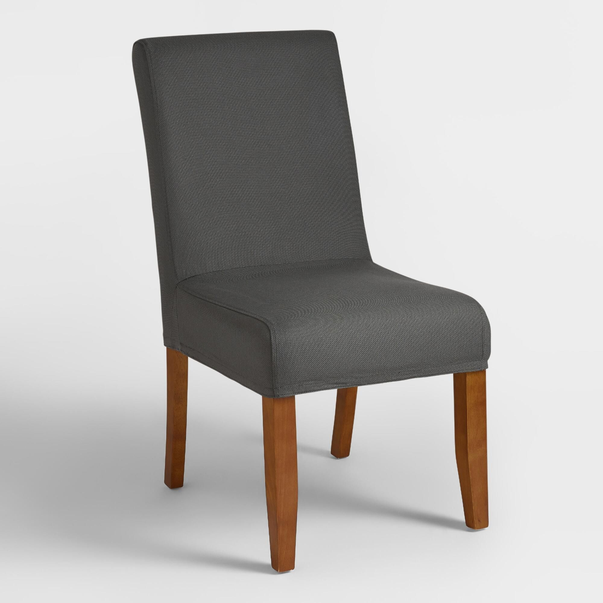 Gray Anna Slipcover (With images)   Slipcovers for chairs ...