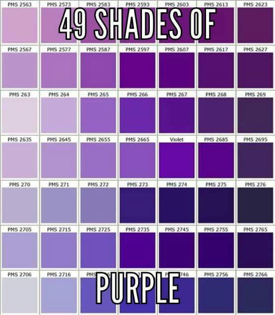 Pin By Mindy Smith On Purple Everything Purple Purple Color Chart Pantone Color Chart Pms Color Chart