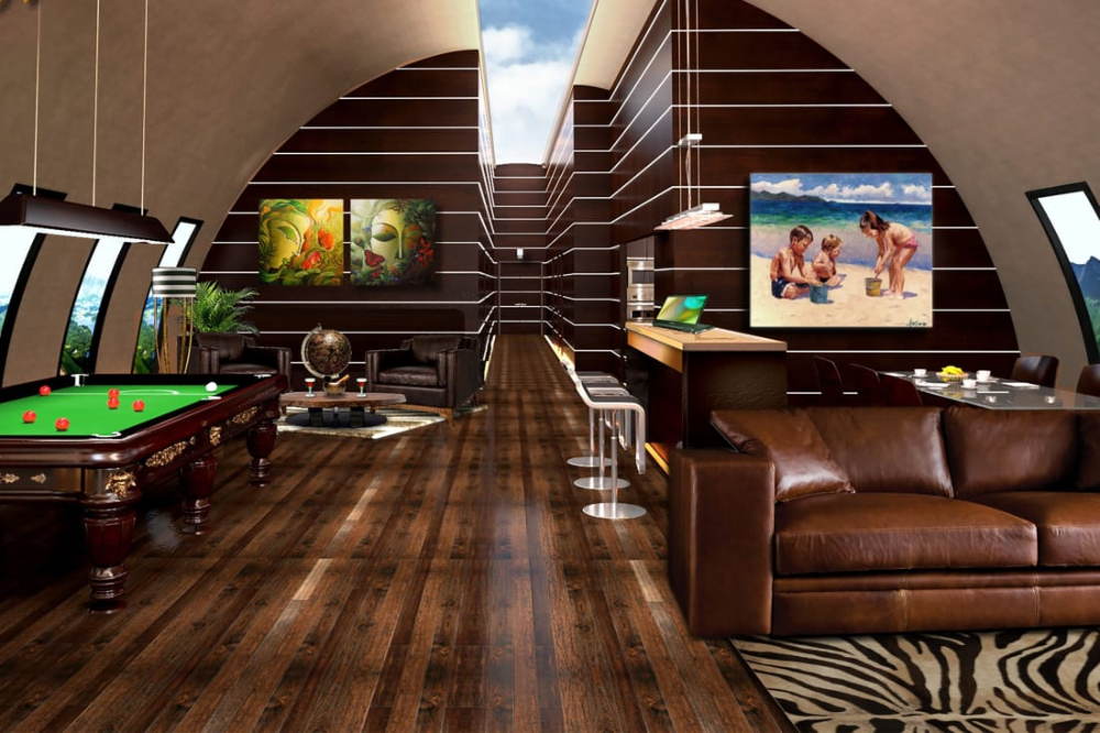 Billionaire Bunkers How The 1 Are Preparing For The Apocalypse Luxury Bunkers Bunker Home Doomsday Bunker