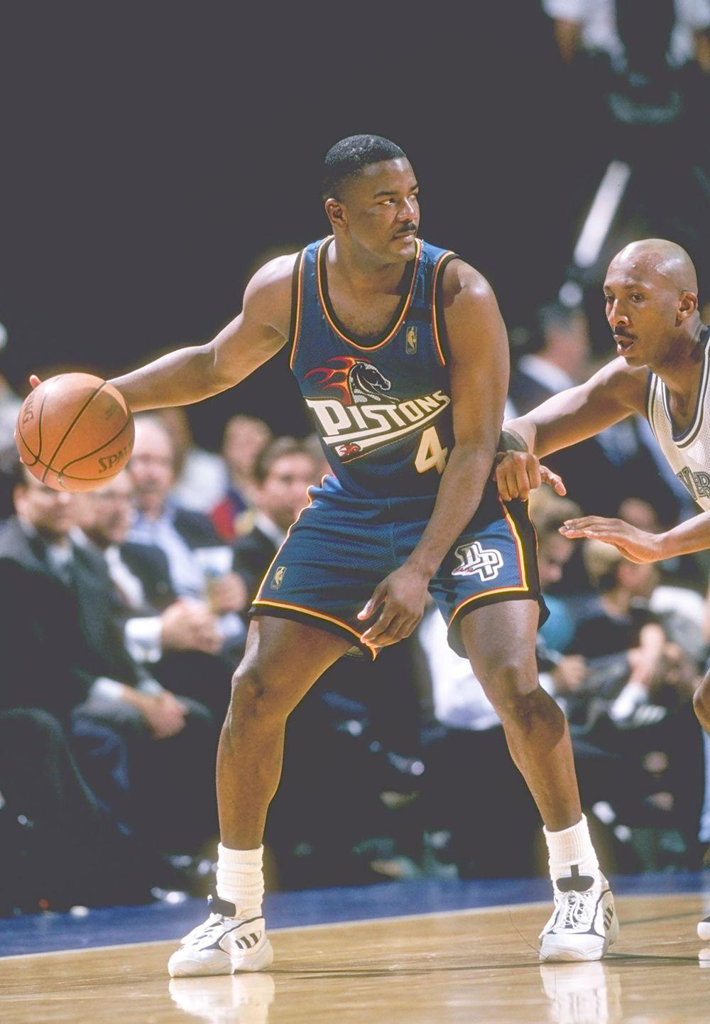 Joe Dumars All time great Detroit Pistons
