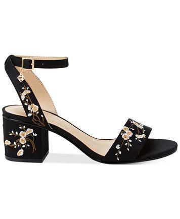 dfbf846faa1 Nanette by Nanette Lepore Ruby Two-Piece Block-Heel Sandals