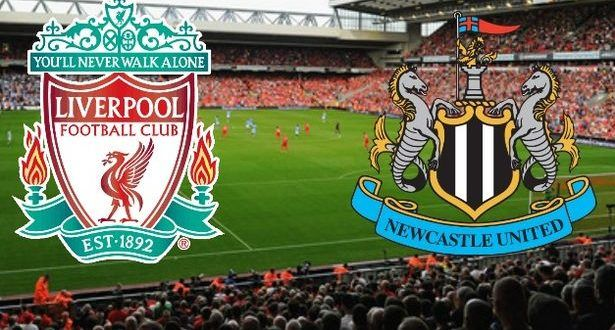 Liverpool Vs Newcastle Newcastle Liverpool English Premier League
