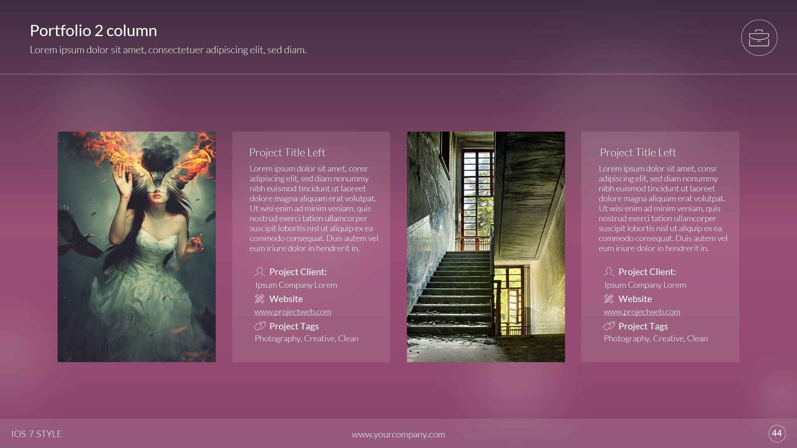 7 Style Powerpoint Template Powerpoint Templates Templates Powerpoint